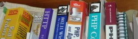 Web Design Books, Red Hat Fedora Bible PHP MySQL and Apache, Wireless Networking 802.11. Other PHP Texts